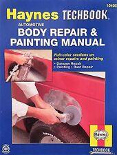 Haynes TECHBOOK 10405 /Automotive Body Repair & Painting Step-by-Step Manual