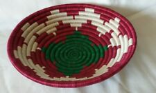 Colourful Woven African Basket