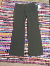BRIGGS NEW YORK Size 8 Long Dress Pants Stretch Slimming Solutions Moss Green