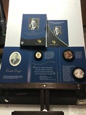 2016 Ronald Reagan Coins and Chronicles Set Reverse Silver Proof Dollar Coin