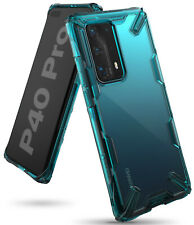 For Huawei P40 Pro Case, [Fusion-X] Ringke Clear PC Back TPU Bumper Protection