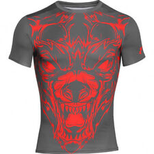 Under Armour Mens UA Beast Wolf Compression Shirt Medium Graphite