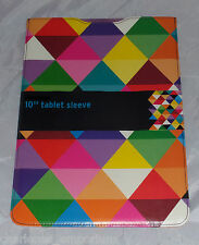 """10"""" Tab Tablet protective sleeve pouch case Samsung Universal Diamond design NEW"""