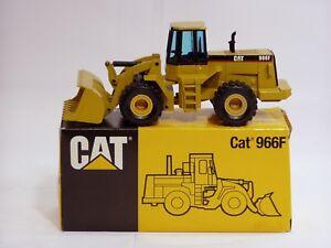 """Caterpillar 966F Loader - """"BLACK CAB"""" - 1/50 - NZG #237 - N.MIB"""