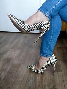 Casadei Luxus Designer High Heel Stiletto Pumps Gr. 41 spitz getragen Vero Cuoio