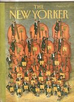 1989 New Yorker March 6 - Violins, Cellos, Basses - Oh My!  O'Brien