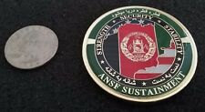 RARE Afghan National Security Forces ANSF NATO USAF Army MP OEF Challenge Coin