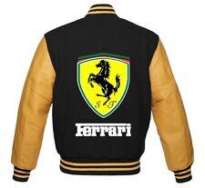 9f6bb38f009933 Ferrari Car varsity Jacket small med large XL 2XL 3XL