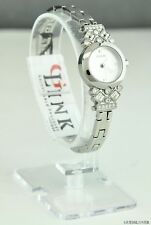 NWT Limited Pristine Ladies Watch GUESS Silver Stainless Steel New U0221L1