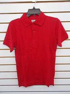 Boys KHQ Assorted Uniform Short Sleeve Polo Shirts Reg & Husky Sizes 4 - 18/20