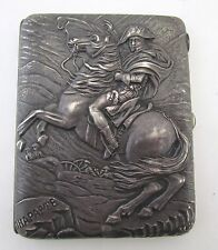 Antique19th/early 20th Century Russian Cigarette Silver Case by K.I. Skvortsov