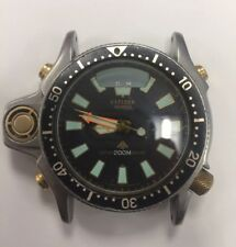 CITIZEN PROMASTER AQUALAND DIVERS 200M C023 CASE ONLY ANA-DIGI PARTS/REPAIR