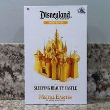 Disney Parks D23 Metal Earth Disneyland Sleeping Beauty's Castle LE Gold Model