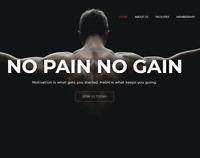 Gym Wordpress Website (With Demo Content)