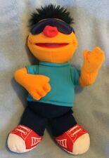"13"" Ernie Sesame Street Hasbro Guitar Playing Sunglasses 2011 Let's Rock Music"