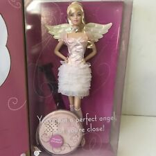 2008 HAPPY BIRTHDAY ANGEL BARBIE WITH MUSIC STAND