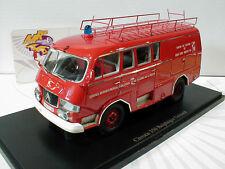"""AutoCult 12002 # Citroen 350 Belphegor Guinard """" Feuerwehr (F) """" 1:43  NEU !!"""