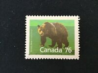 """JPS_Stamps! #1178a... """"Grizzly Bear, SP / Perf 12.5 x 13.1"""" (used condition)"""