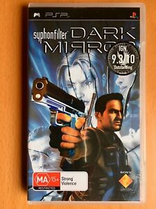 Syphon Filter: DARK MIRROR (Sony PSP Playstation Portable Game, PAL Reg 4) -VGC