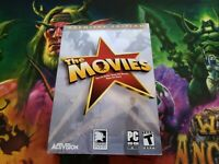 PC DVD The Movies: Premier Edition (PC, 2005) COMPLETE MINT WITH DISC PHOTOS!