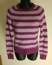 Fat Face Women's Jumper   Cashmere Mix  Wool Stripped Jumper 8/10