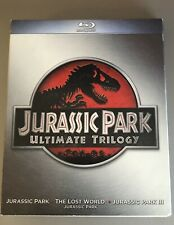 Jurassic Park Collection (Blu-ray Disc, 2011, 3-Disc Set)
