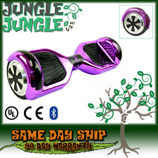 Super Speedy Balance Scooter UL 2272 Certified Smart Bluetooth LED Gloss Purple