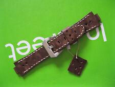 Handmade Leather Vintage Watch Strap Oris Aquis 26/22,Oris Diver tt1 24/20 Brown