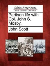 Plaque in Bonded Bronze Mosby Col John S