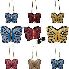 Señoras Mariposa transversal Bolso de Hombro Bolso de Mano Bolso Mensajero Cartera 9880