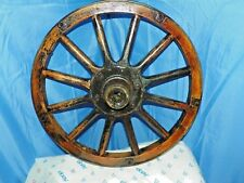 MODEL T WOODEN SPOKED WHEEL WITH WOOD OUTER RIM 23""