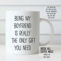 Being My Boyfriend Coffee Mug Funny Coffee Mug For Boyfriend Cute Mug