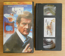 The James Bond 007 Collection (1999) - A View To A Kill - VHS - PAL
