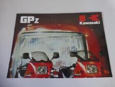 Original Kawasaki GPZ Prospekt 400 550 750 1100
