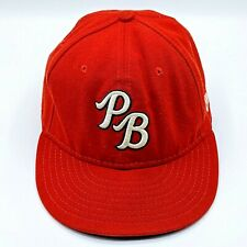 Palm Beach Cardinals Red Hat Florida New Era Size 7 St Louis USA Made Single A