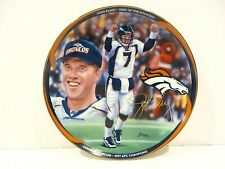 Denver Broncos John Elway Bound For Glory Collectors Plate