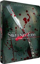 SWEENEY TODD - The Demon Barber of Fleet Street EDIZIONE STEELBOOK (BLU-RAY)