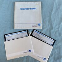 "Microsoft MS-DOS Operating System 3.30A 5.25"" Floppy GW-Basic Computer Software"