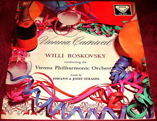 SXL 2163 VIENNA CARNIVAL WILLI BOSKOVSKY..DECCA WBG VINYL LP EX STEREO STRAUSS