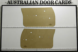 Holden HQ HJ HX HZ & WB. Sedan, Wagon, Ute, Van Door Cards. Blank Trim Panels.