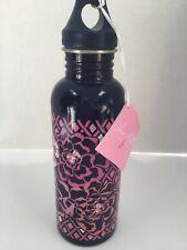NWT Vera Bradley SS Metal Water Bottle KATALINA PINK 25 oz BPA FREE  HTF