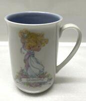 "Vintage Enesco 1989 Precious Moments ""GRANDMA"" Collectible Coffee Tea Cup Mug"