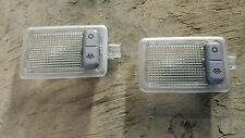 Ford mondeo vanity mirror lights sun visor lights complete with metal fasteners