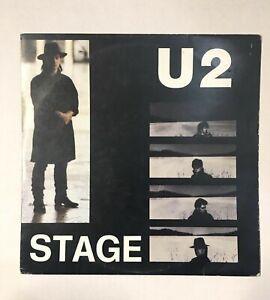 "U2 STAGE 2 LP 33 Giri 12"" - Ghenos 005/85/GE Live During USA Tour 1983"