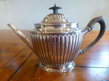 Antique GEORGIAN sterling silver teapot ROBERT HENNELL RH 1793 London coffee pot