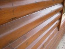 Hand Peeled White Cedar Log Home House Kit Prebuilt Panelized Construction Home