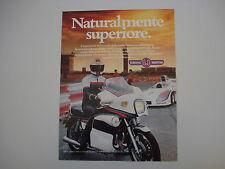 advertising Pubblicità 1979 MOTO YAMAHA 1100 1.1 MARTINI