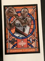 2012-13 Innovation Stained Glass Damian Lillard Rookie RC 37 MINT READY TO GRADE