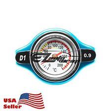 0.9 Bar Thermostatic Radiator Cap 13 PSI Pressure Rating with Temperature Gauge