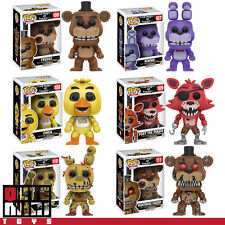 FUNKO POP FIVE NIGHTS AT FREDDY'S BONNIE CHICA SPRINGTRAP FOXY SET OF 6 FIGURES